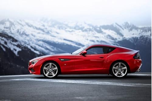 BMW Zagato Coupe at Concorso D'Eleganza