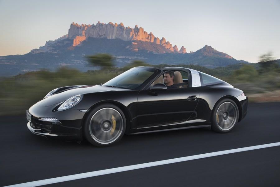 2014 Porsche 911 Targa 4 and Targa 4S