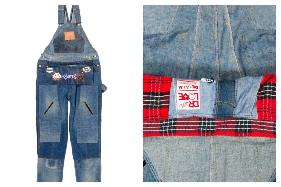 DRx Romanelli Recycled Levi's Overalls-00