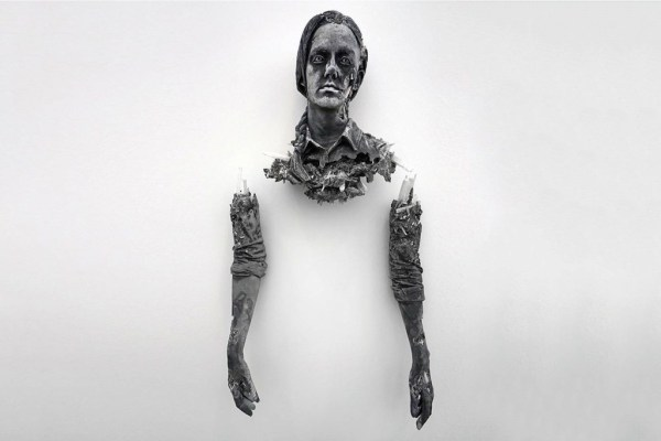 New Daniel Arsham Sculpture Uses Eroded Ashes-01