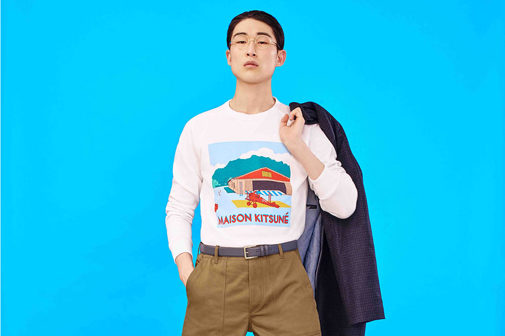 Maison Kitsuné Fall/Winter 2016 'Love Rises' Lookbook