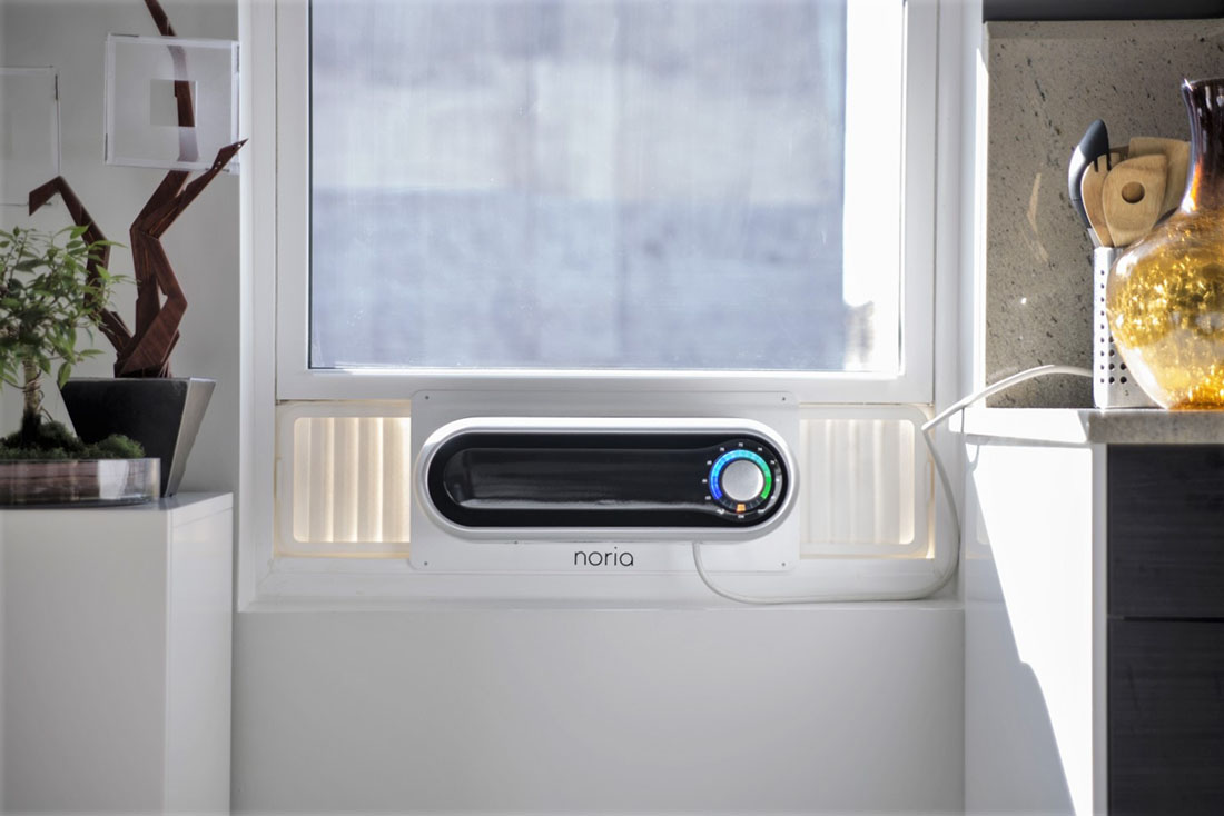 Noria Is A Smart Window AC Unit That's Beautifully Designed