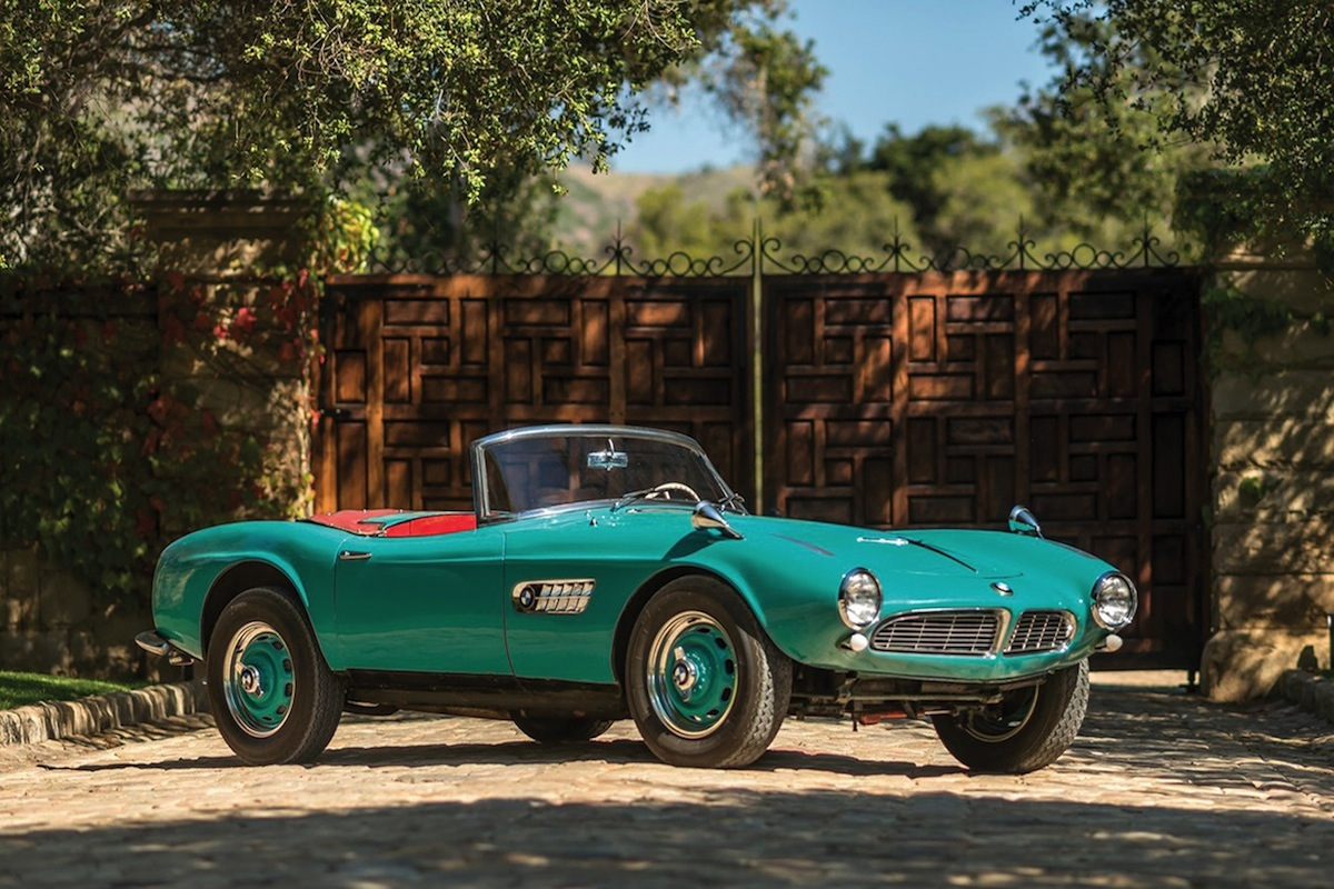 Rare 1957 BMW 507 Roadster Up For Auction