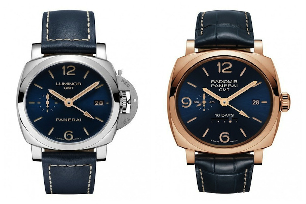 Panerai Releases Special Edition Blue Dial Watch