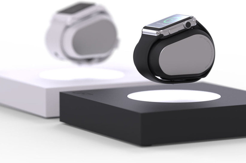 The Apple Watch Gets a Futuristic Accessory With the LIFT Levitating Charger