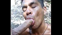 Brasileiro gay fazendo chupeta pro macho