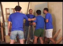 Filme porno Gay brasileiro – Confusão na cadeia