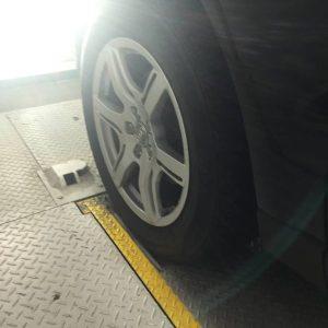 レジデンスの立体駐車場