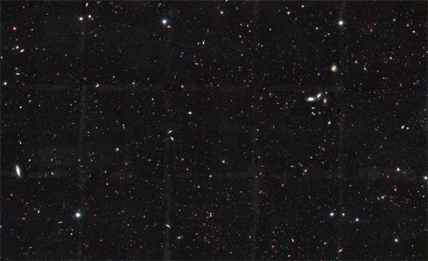 HST GOODS - Campo Sul - uma das imagens mais profundas do céu.