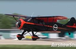 Mass Arrivals at EAA AirVenture Oshkosh 2016 – Sunday