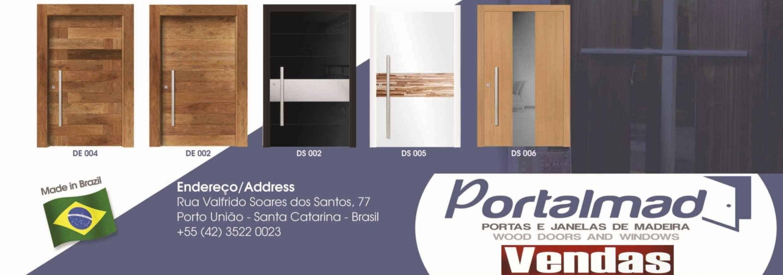 #77432A Portalmad Indústria e Comércio de Esquadrias de Madeira Ltda. 1178 Portas E Janelas De Madeira Em Lagoa Santa