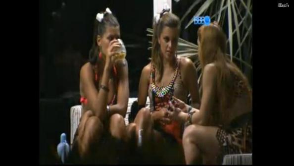 Aline Fran Angela festa