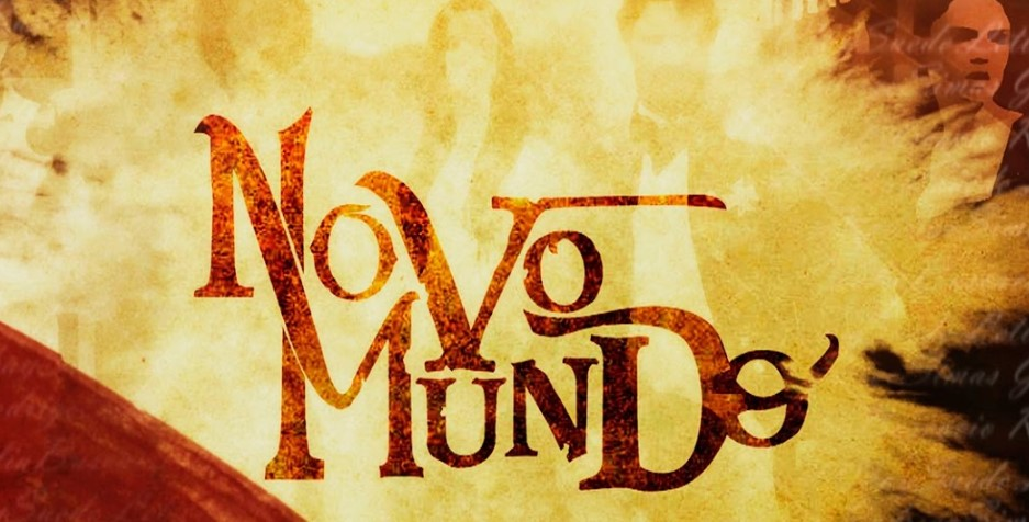 Resultado de imagem para logotipo novela novo mundo