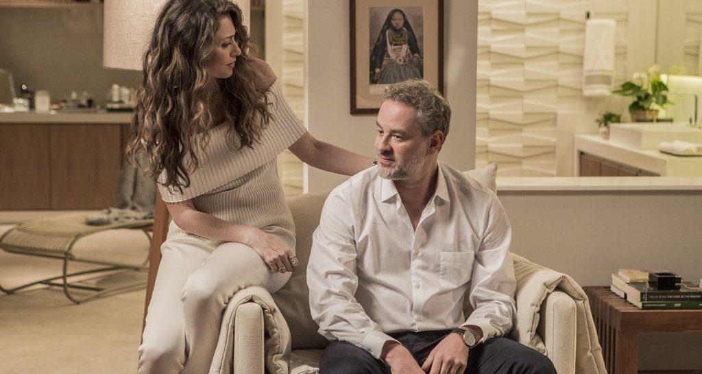 """Em """"A Força do Querer"""" Joyce descobre que Irene é amante de Eugênio"""
