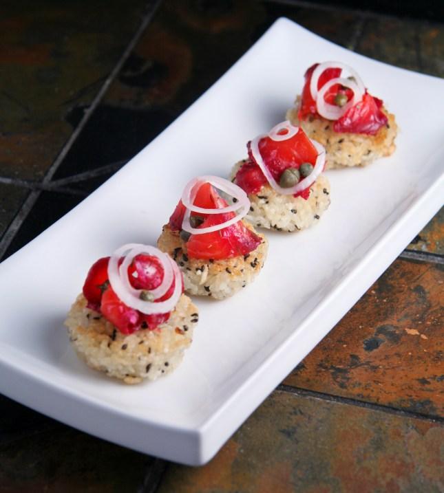 Crispy Sushi Bites