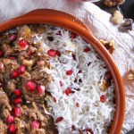 Khoresh-e Fesenjān - Persian Pomegranate Stew with Chicken & Walnuts