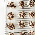 Chocolate Peppermint Meltaway Cookies