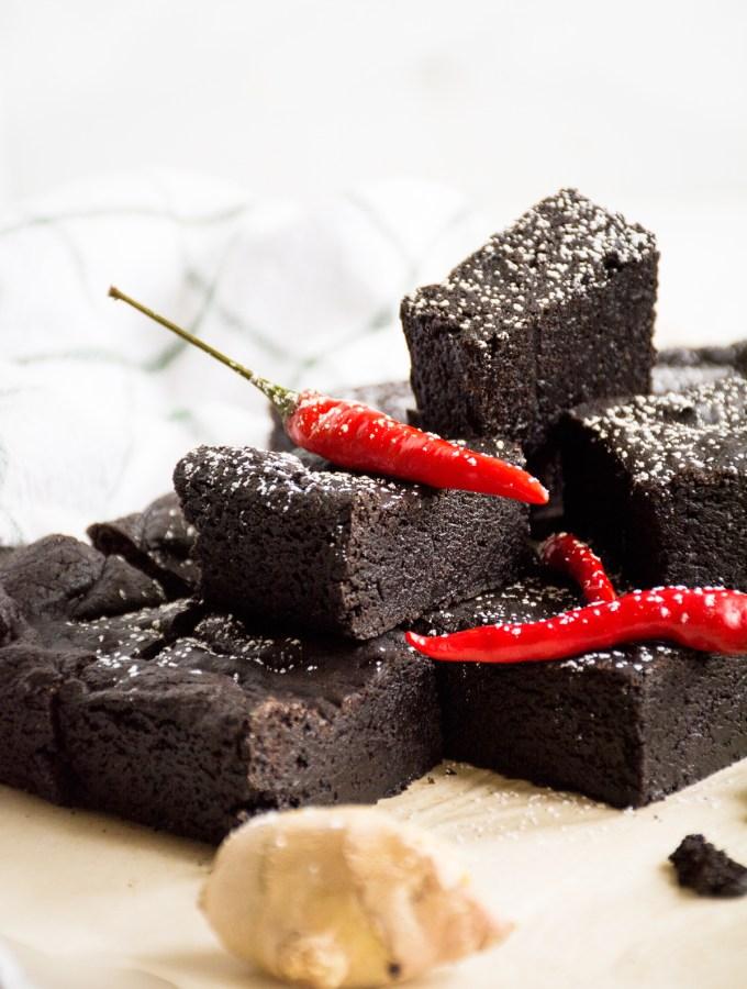 Midnight Diablo Brownies