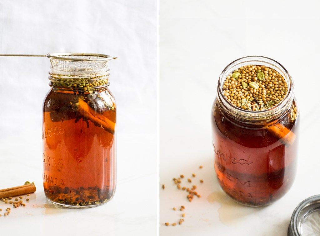 Orange Honey Spiced Iced Tea
