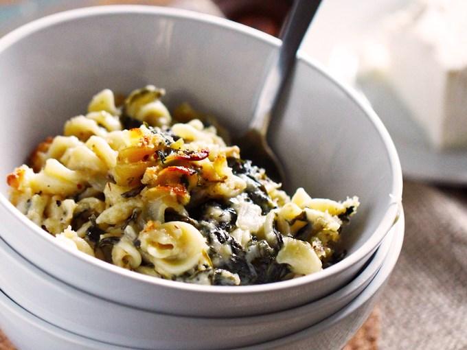 Spinach & Feta Mac N' Cheese