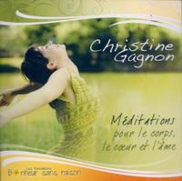 CD Méditations pour le corps, le coeur et l'âme