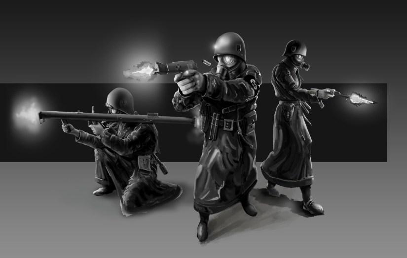 3x soldier
