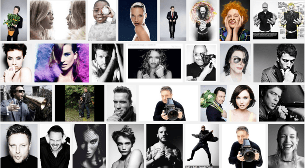 Rankin's celebrity portraits