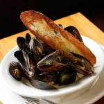 Washington mussels, white wine, cream, tarragon