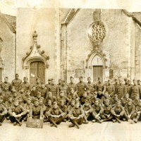 WWI 29th Division 115th Infantry Regiment Panoramic Yardlong Photo - Amazing Details!