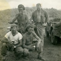 WWII Photo Post - First Beer of the War: 1943 Pacific Theater Downtime