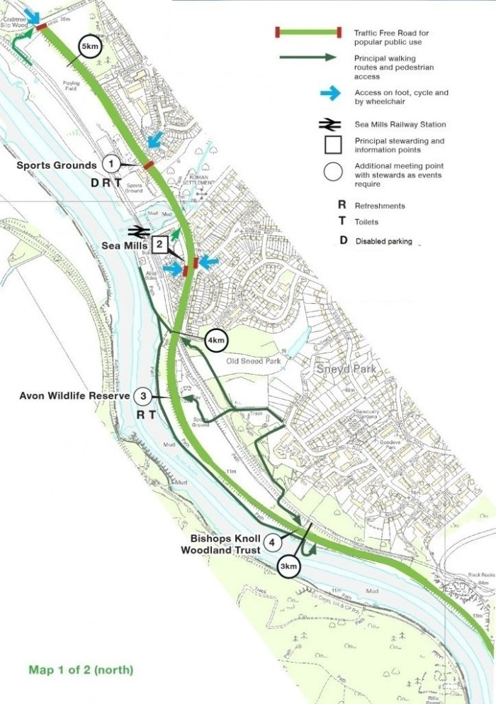 2016 Peaceful Portway site plan North