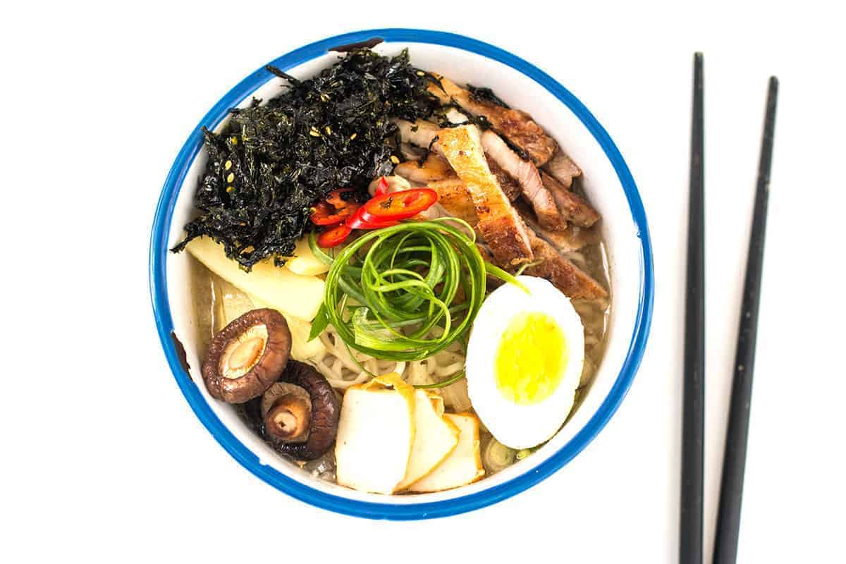Combating a Cold/Flu + Slow Cooker Ramen Recipe