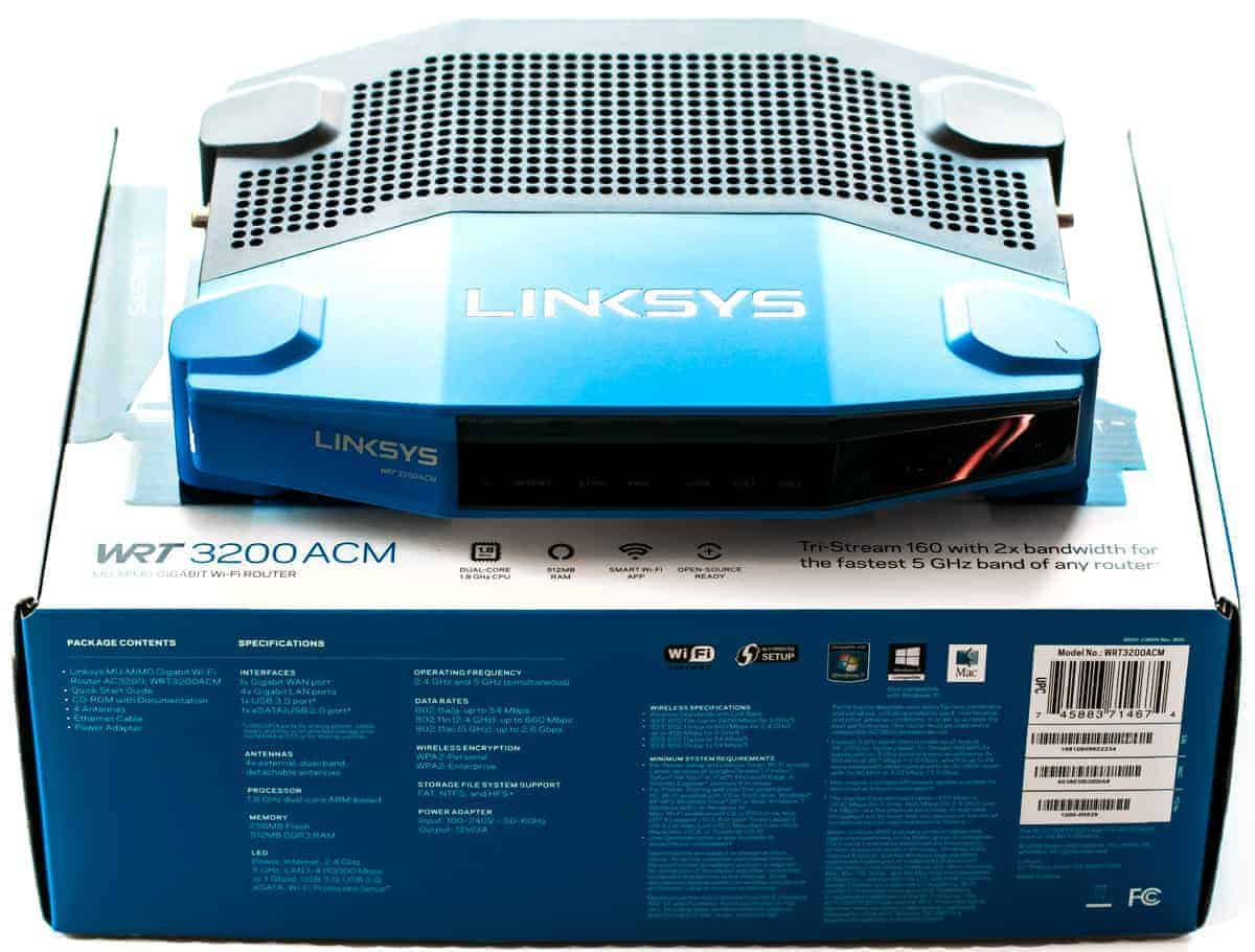A fast and Reliable Router: Linksys WRT3200ACM