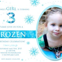 Frozen Invitations | Posh Little Designs