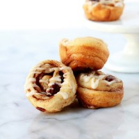 cinnamon rolls _ mini _