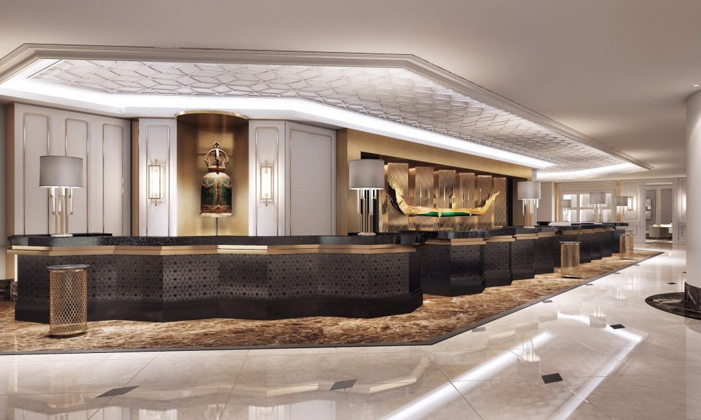 02. Reception Area_The Athenee Hotel_A Luxury Collection Hotel_Bangkok