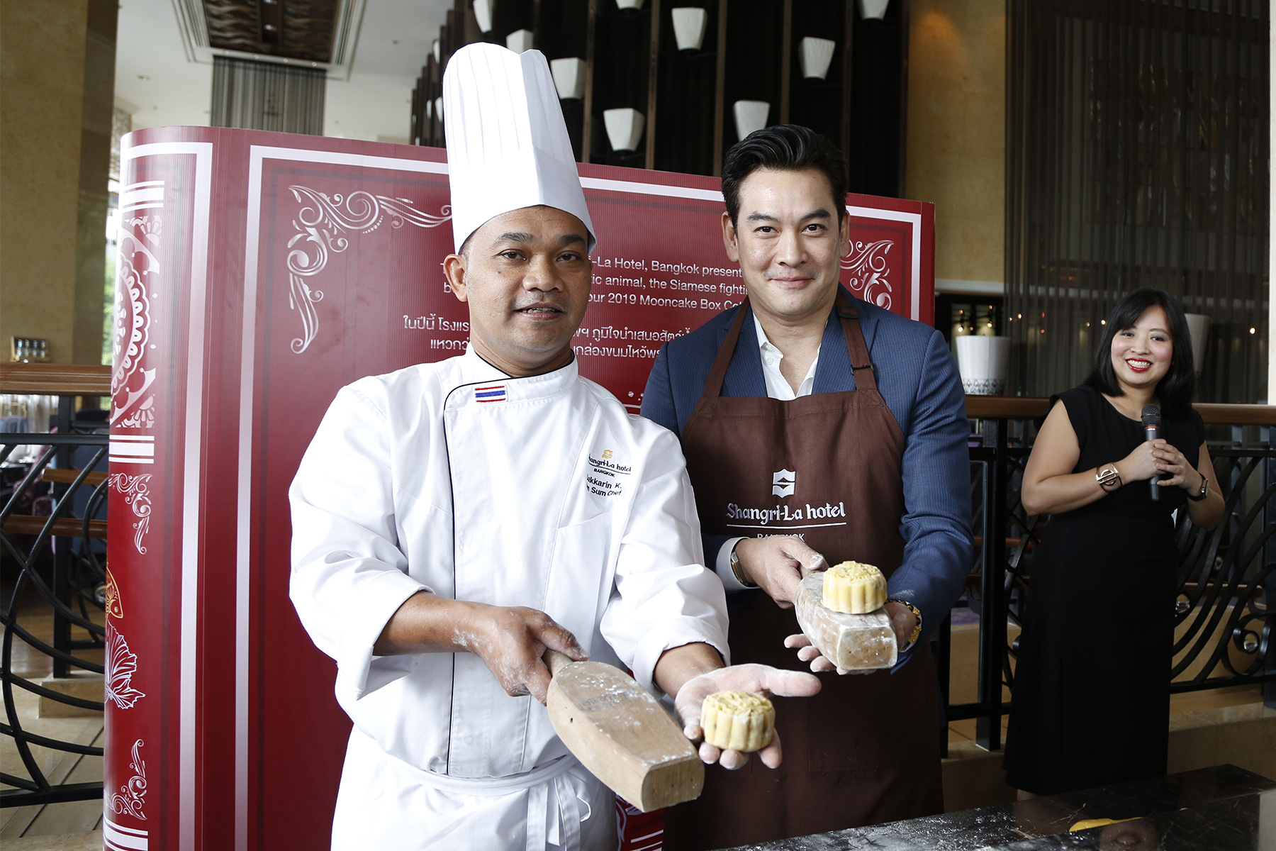 11.Media Launch_Mooncake 2019 at Lobby Lounge_at Shangri-La Hotel, Bangkok