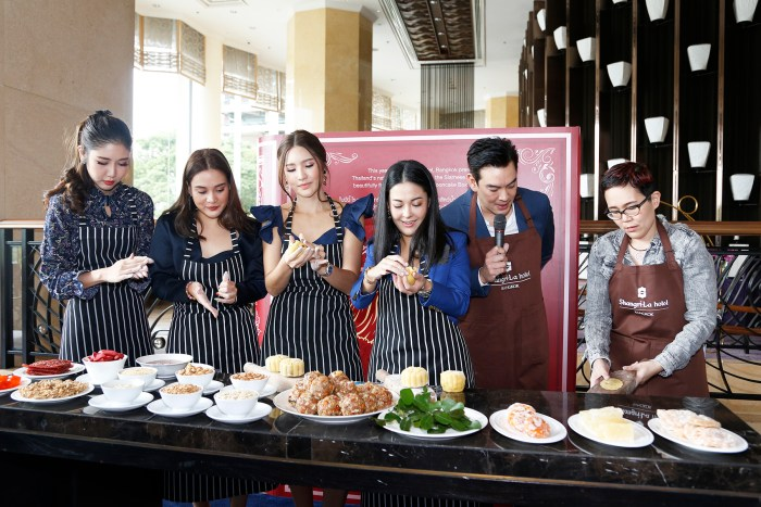15.Media Launch_Mooncake 2019 at Lobby Lounge_at Shangri-La Hotel, Bangkok