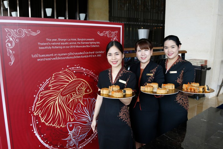 16.Media Launch_Mooncake 2019 at Lobby Lounge_at Shangri-La Hotel, Bangkok