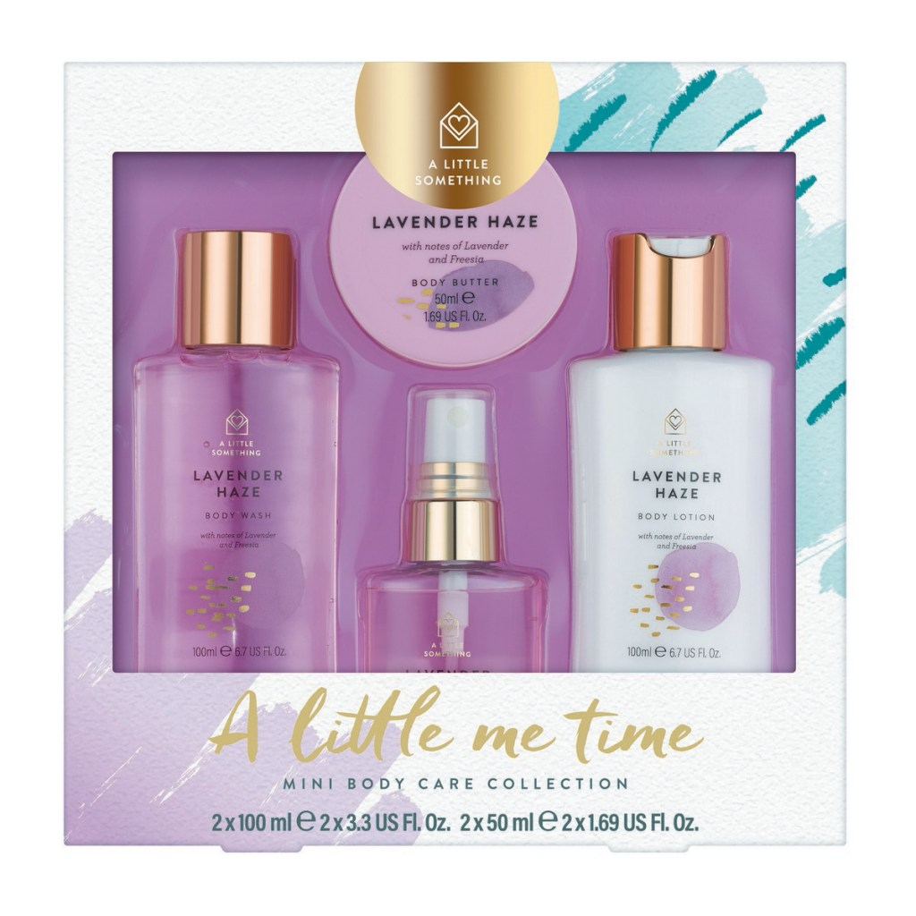 A Little Something A Little Me Time Mini Body Care Collection