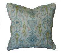 Khanjali Ikat Throw Pillow