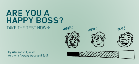 Happy boss quizz