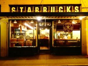 Первый Starbucks