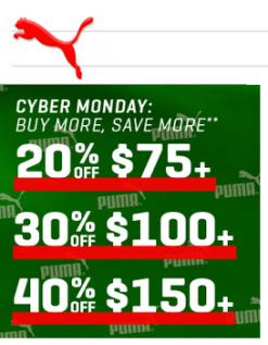 Puma Cyber Sale