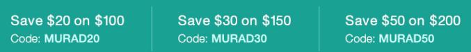 Murad многоуровневая скидка