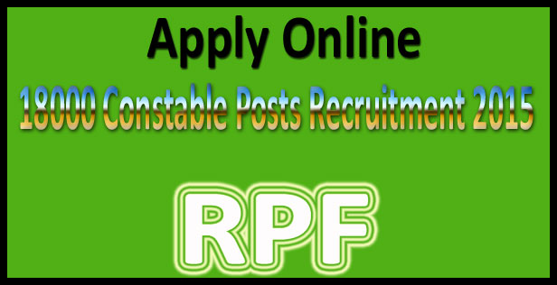 RPF constable requirement 2017