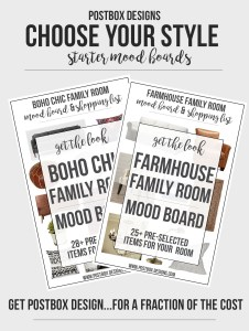 FREE GIVEAWAY + Introducing $149 Pre-Styled Mood Board Packages!