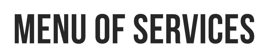 postbox designs menu of services