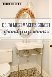 The secret is out! I can finally share my Delta MessMaker Pro Contest Win with you!