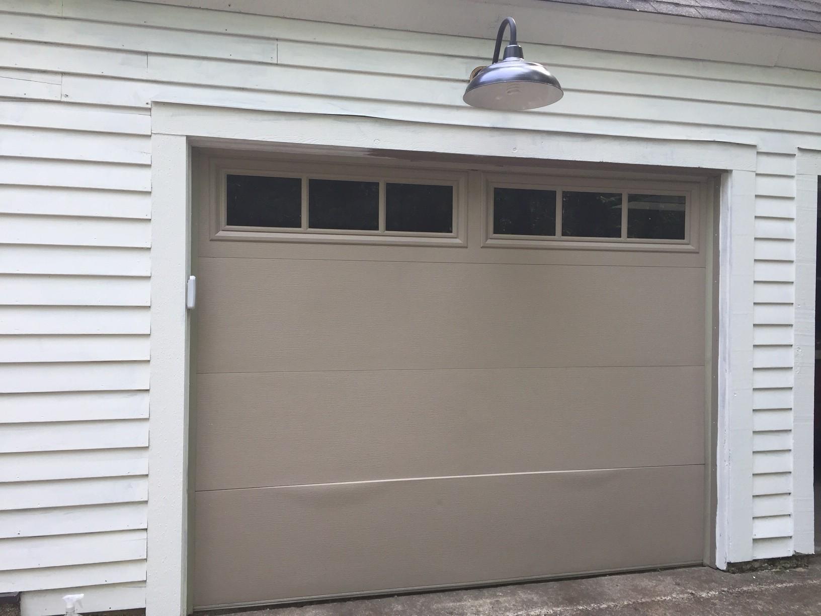 My 57 garage door makeover how to knock off expensive for Garage door ideas